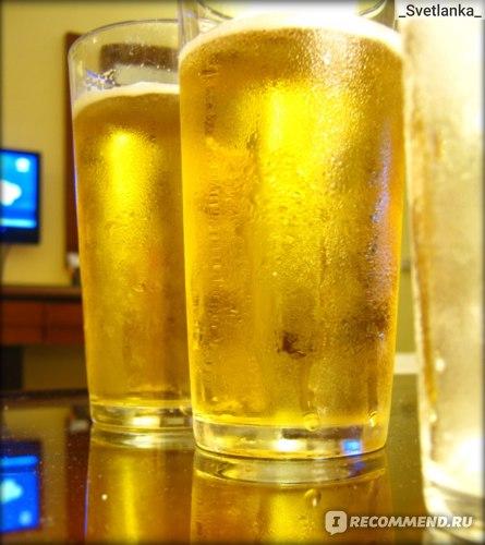 Холодное пиво, теплый вечер