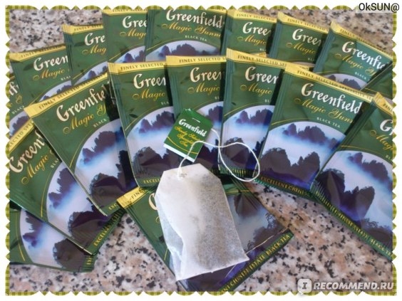 Пакетики чая Гринфилд Magic Yunnan