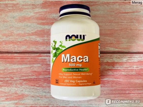 БАД Now Foods Maca фото