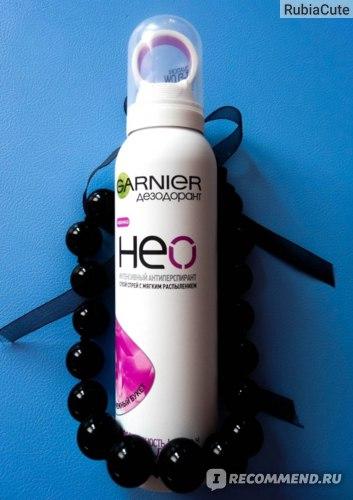 Дезодорант-антиперспирант Garnier Neo сухой спрей с мягким распылением Нежный букет, защита 48 часов, с пантенолом, для чувствительной кожи фото