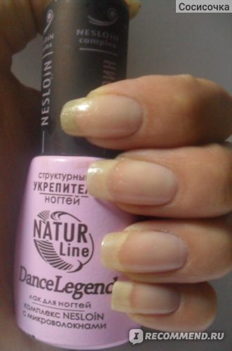 Лак для ногтей Dance legend серия Nature Line, NESLOIN (Неслоин Структурный Укрепитель Ногтей) фото