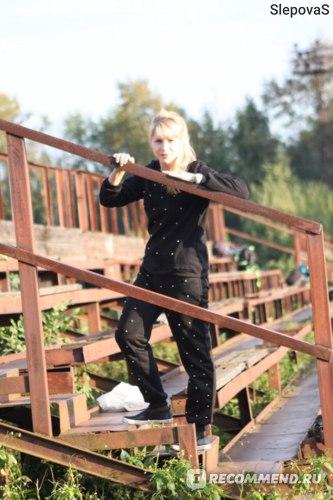 Спортивный костюм AliExpress Women Casual Tracksuit Sweatsuit Sweatpants Sports Hoodie Coat + Pants Suits фото