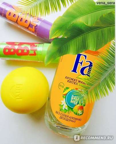 """Дезодорант роликовый FA """"Ритмы острова Бали delight"""" аромат манго и цветка ванили фото"""