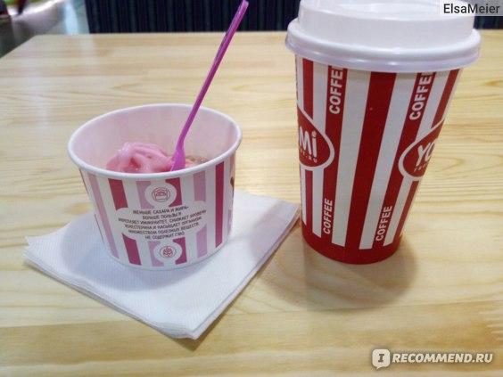 Кофе и йогурт