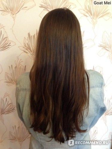 Волосы сами высохли, даже не расчесала ещё ))