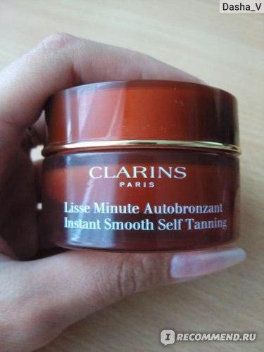 Крем для лица Clarins Instant Smooth Self Tanning фото