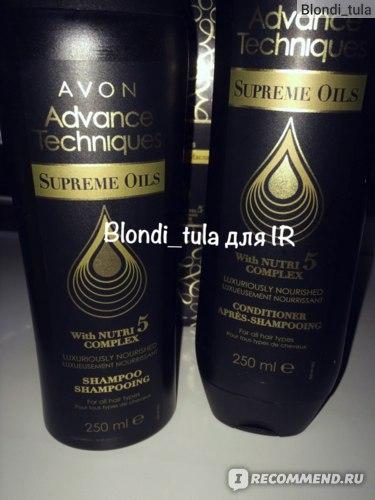 "Шампунь Avon ""Драгоценные масла"" Advance Technigues фото"