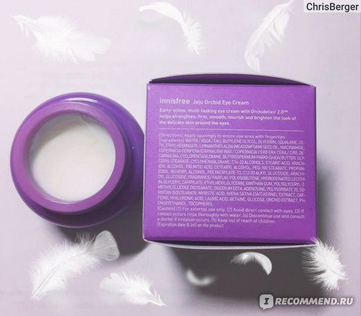 Крем для кожи вокруг глаз Innisfree Orchid Eye Cream фото