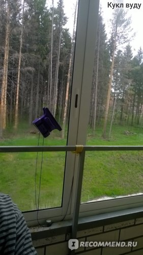 Магнитная щетка для мытья окон Window Wizard 24мм фото