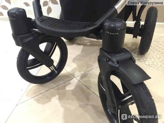 передние колеса и тормоз