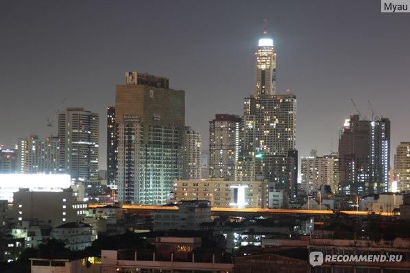 Ночной вид с крыши 11 этажа