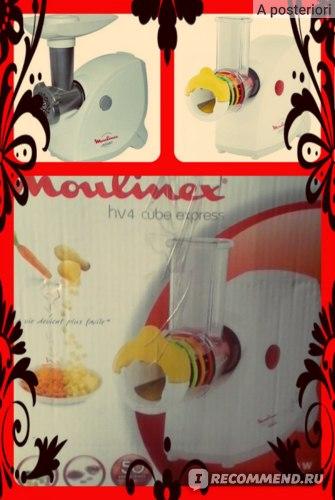 Электрическая мясорубка MOULINEX  HV4 Cube Express фото