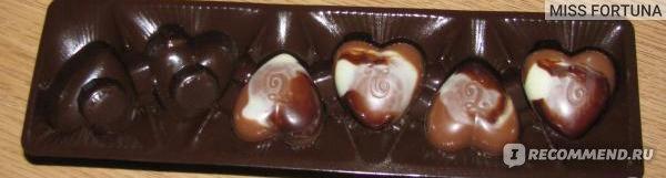Trefin Belgian Chocolates Hearts