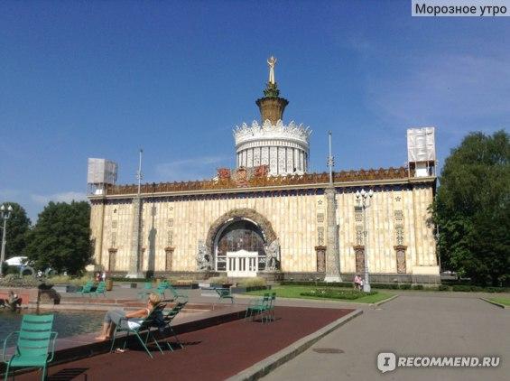 ВДНХ-выставка достижений народного хозяйства, Москва фото