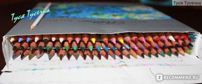 Набор цветных карандашей Marco Raffine - 72 Color Drawing Pencils set for Artist (Арт. 7100-72CB) фото