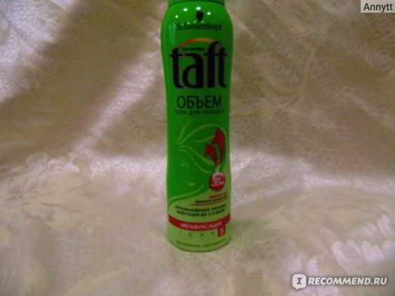 Пена для укладки волос Taft «Сила объема» фото