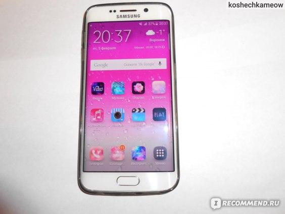 Мобильный телефон Samsung Galaxy S6 Edge фото