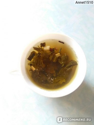 Чай зеленый Tess Lime green tea, citrus peels фото