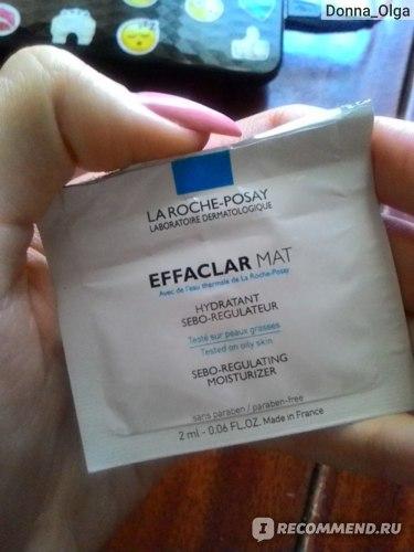 Эмульсия для лица La Roche Posay EFFACLAR MAT Увлажняющая Матирующая Себорегулирующая фото
