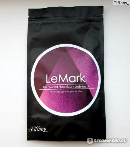 "Скраб-маска LeMark ""Голливудский шоколад"" фото"