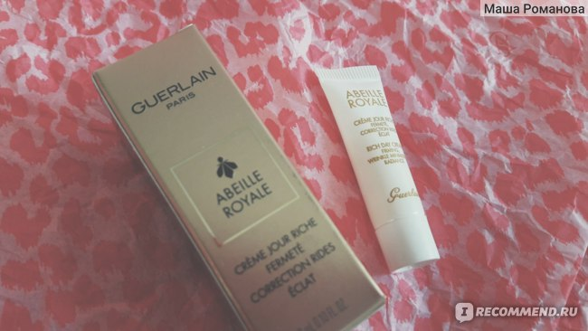 Крем для лица Guerlain abeille royale creme jour фото