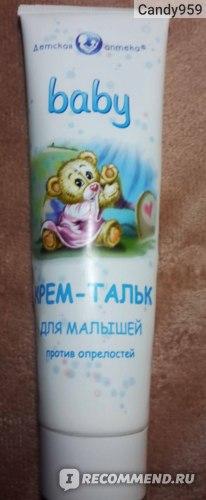 Детский крем Детская аптека baby крем-тальк для малышей против опрелостей фото