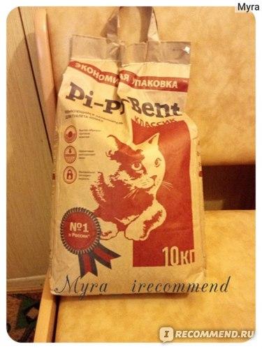 Наполнитель для кошачьего туалета Pi-Pi-Bent комкующийся фото