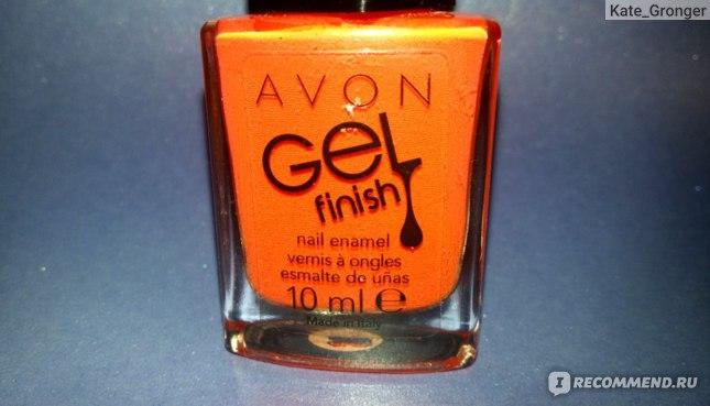"Лак для ногтей Avon ""Гель-эффект"" Gel Finish Nail Enamel фото"