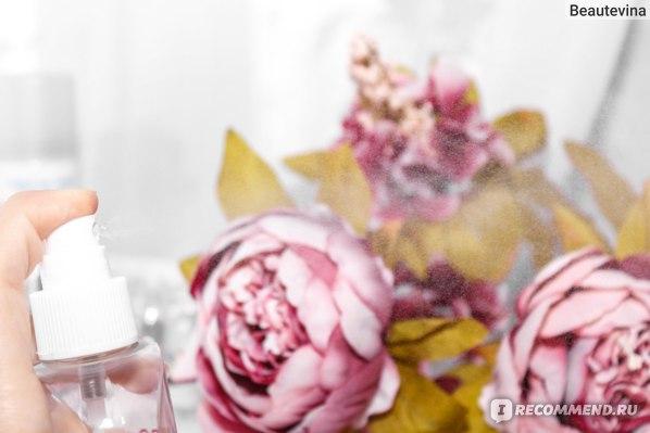 Освежающий спрей на основе дамасской розы