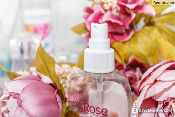Болгарская косметика Ekbrose | Розовая вода My Rose of Bulgaria