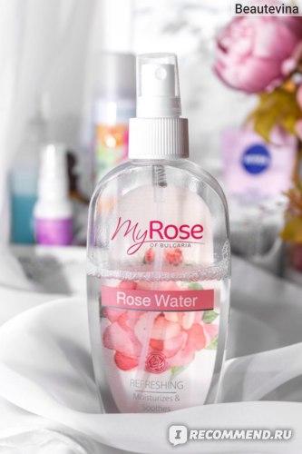 Розовая вода My Rose of Bulgaria | ИМ Ekbrose