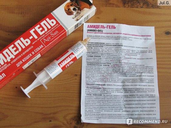 Амидель-гель, инструкция по применению