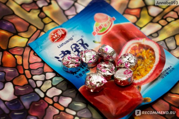 Леденцы Lishuang Passion Fruit Морозная маракуйя
