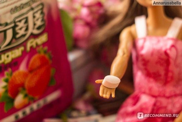 Конфеты Lishuang Sugar Free Клубника-Мята