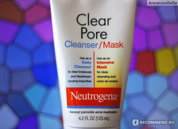 Маска для лица Neutrogena®  Cleanser/Mask  фото