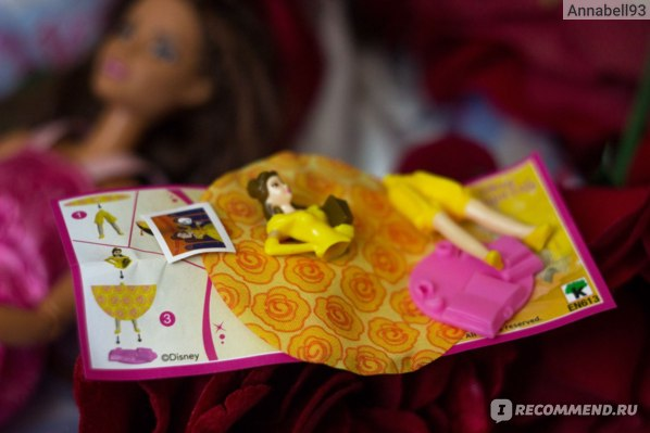 Шоколадное яйцо с сюрпризом Kinder  Disney Princess фото