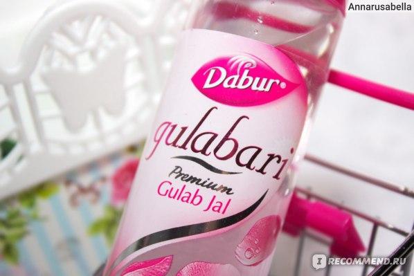 Розовая вода Dabur gulabari premium Gulab Jal фото