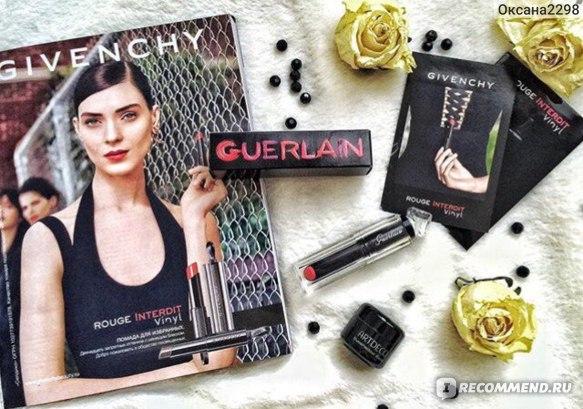 Губная помада Guerlain La Petite Robe Noire Lipstick фото