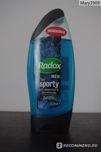 Гель для душа Radox Ощути активность фото