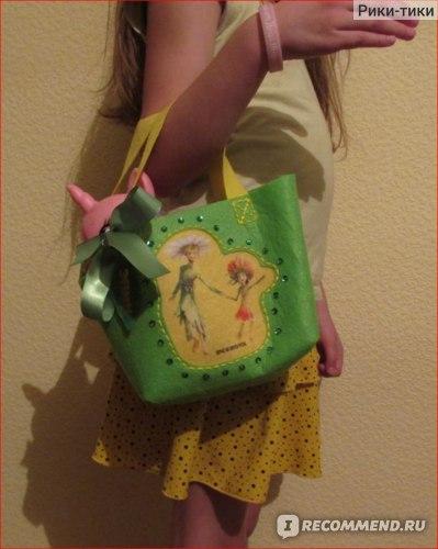 Делай с мамой (D&M) Набор для развития детского творчества - Шьем из фетра сумочку Лесные жители (ЭПИК) фото