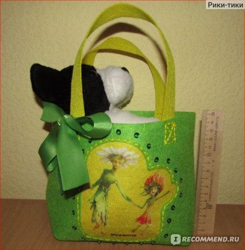высота сумочки около 15 см, длина - 16 см, ширина - 10 с.
