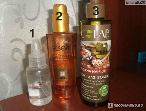 Масло для волос ECOLAB Для лечения ослабленных и секущихся волос фото