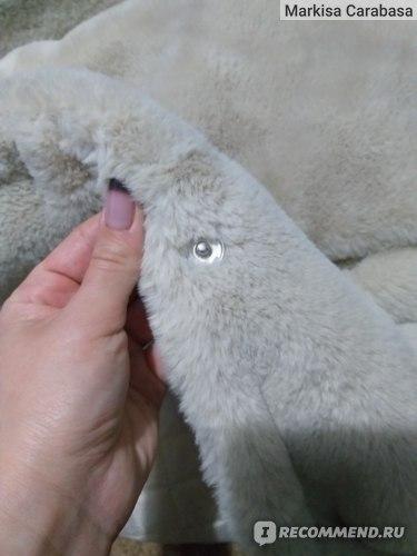 Меховое пальто aliexpress