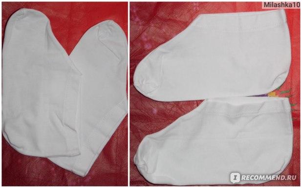 Носочки для косметических процедур DNC Уход за ногами фото