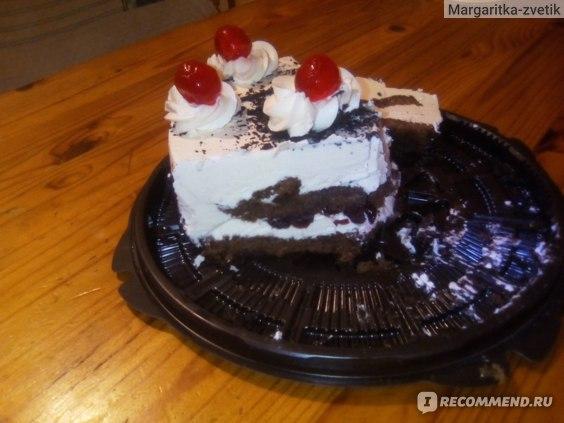 Бисквитный торт MisterTort Пьяная вишня фото