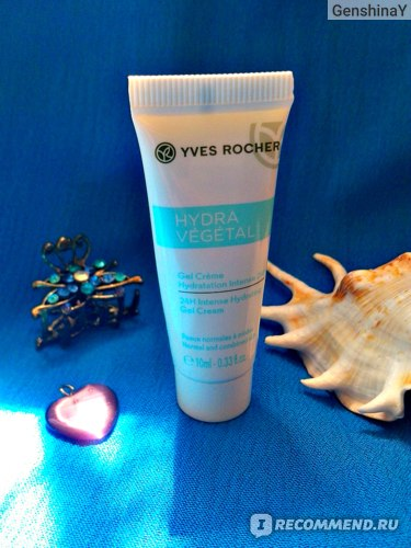 Крем для лица Ив Роше / Yves Rocher Hydra Vegetal интенсивно увлажняющий «Интенсивное Увлажнение 24 Часа» фото
