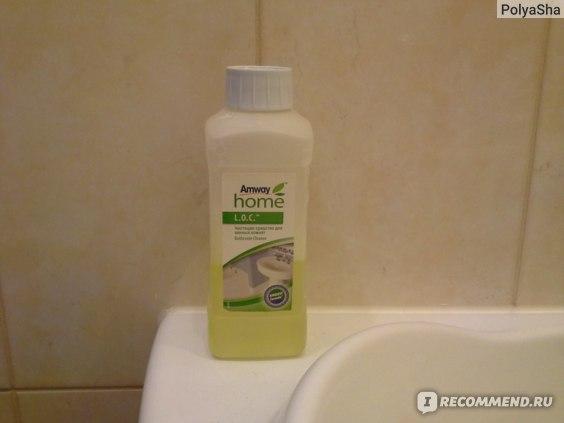 Средство для ухода за туалетом и ванной комнатой Amway L.O.C. Чистящее  фото