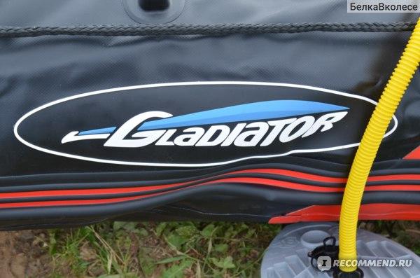 Надувная лодка Gladiator Гладиатор D330AL фото