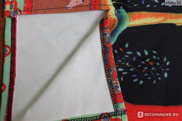 Юбка AliExpress CHICING 2016 Summer Women Ethnic Painting Print Midi Pencil Skirts Back Split High Waist Wrap Black Bodycon Tube Saias A1507008 фото
