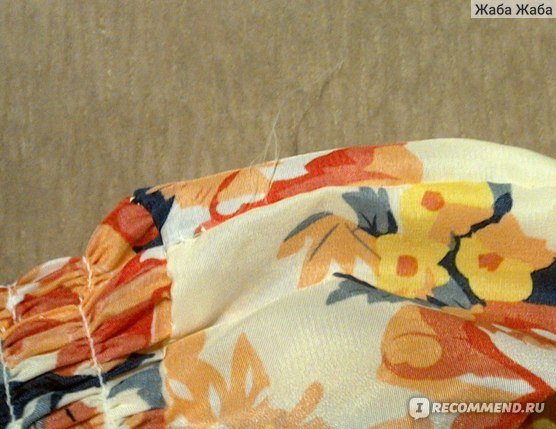 Платье летнее AliExpress 2015 Summer Fashion Fresh Flower Print Bohemian Chiffon Dress Women Casual Round Neck Sleeveless Beach Dress фото